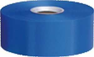 Polyband, blau, 4 cm, 91 Meter-Rolle