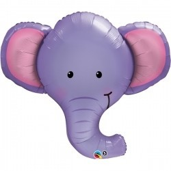 Folien-Shape Elefant Kopf, ca. 99 cm