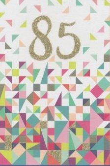 Grußkarte: 85 - Ornamente