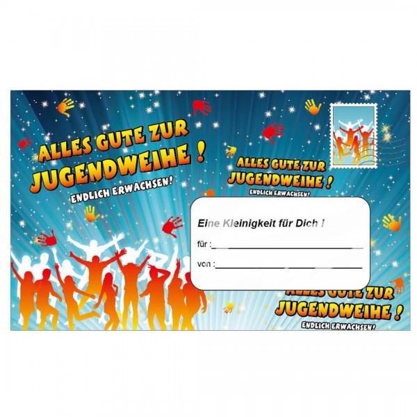 Riesen-Umschlag Alles Gute zur Jugendweihe, ca. 18 x 30 cm