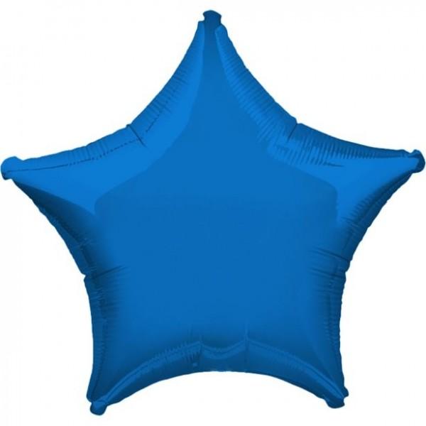 Folienstern blau, Riesenballon, ca. 90 cm