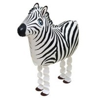 Folienballon Walker Zebra, ca. 64 cm
