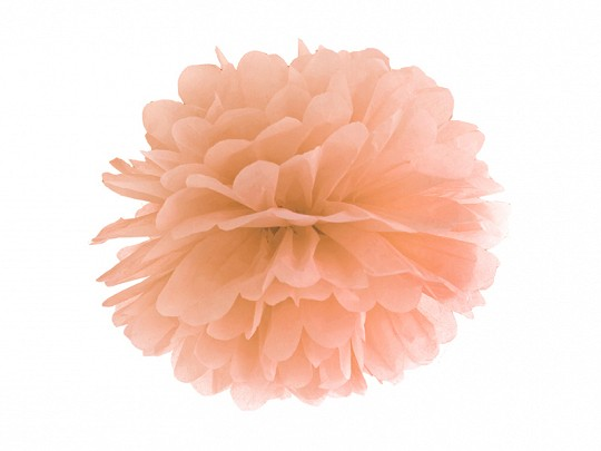 Pompom apricot, 25 cm, 1 St.