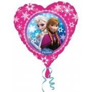 Folienherz Frozen / Die Eisprinzessin, Anna & Elsa, ca. 45 cm