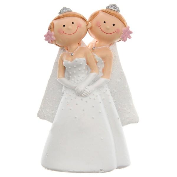Brautpaar Frauen , Brautkleider, ca. 10 cm