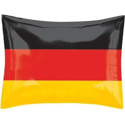 Folienballon Deutschland Flagge, ca. 53x41 cm