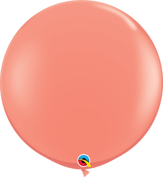 Riesenballon Qualatex, ca. 90 cm, koralle