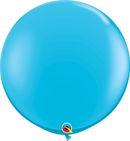 Riesenballon Qualatex, ca. 90 cm, robin`s egg blue