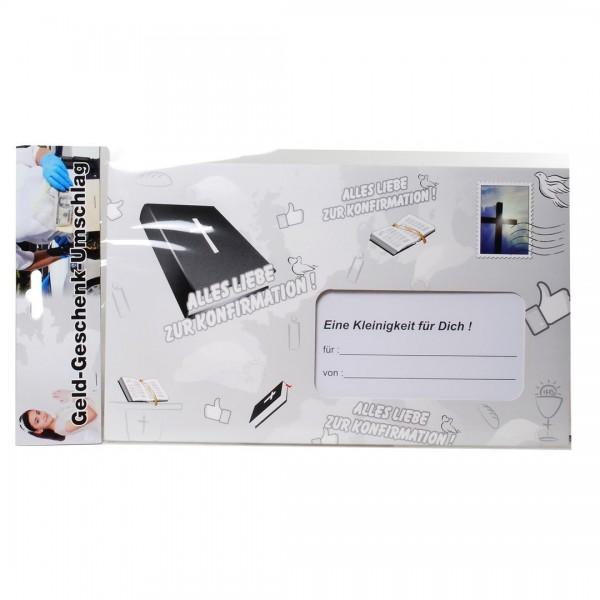 Riesen-Umschlag Alles Liebe zur Konfirmation, ca. 18 x 30 cm