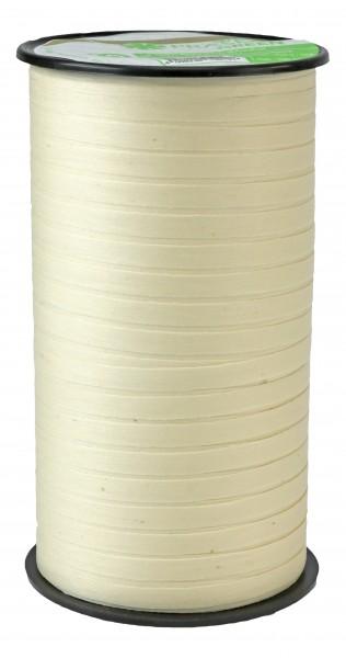 Ballonband biologisch abbaubar naturfarben Cottonfield 0,5 cm x 100 M.