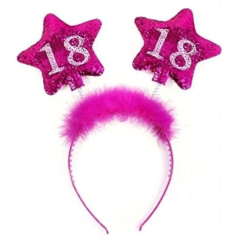 Haarreifen 18, pink, Einheitsgröße
