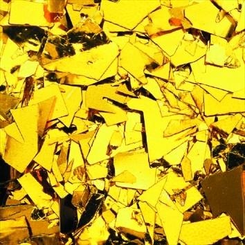 Ballonflitter Konfetti Folie GOLD 1 kg
