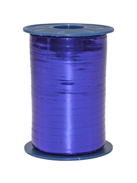 Polyband, blau, Metallic, 400 Meter-Rolle