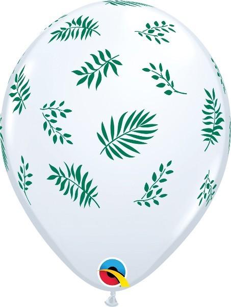 5 Ballons Greenery, Qualatex, ca. 30 cm