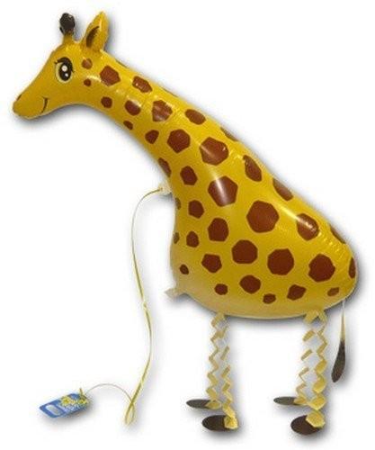 Ballongruß: Giraffe, Airwalker, ca 65 cm