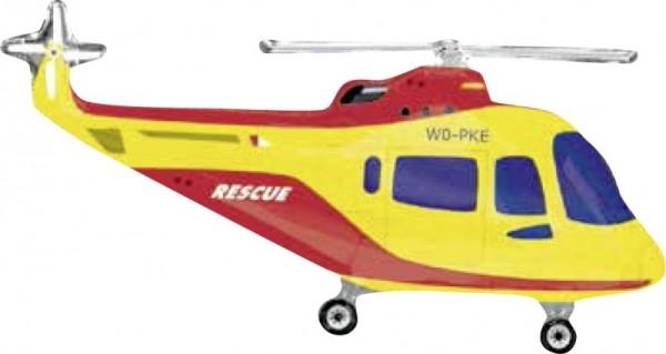 Folien-Shape Hubschrauber, ca. 90 cm