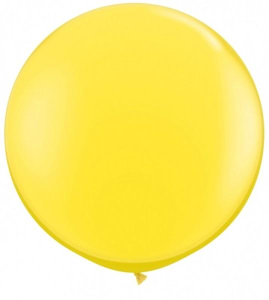 Riesenballon ca. 90/100 cm, gelb