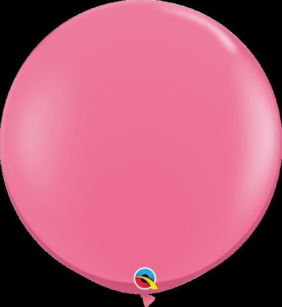 Riesenballon Qualatex, ca. 90 cm, rose - rosa