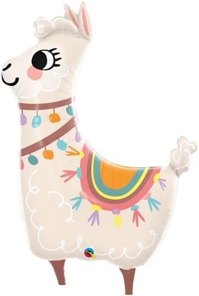 Folien-Shape Lama, ca. 114 cm