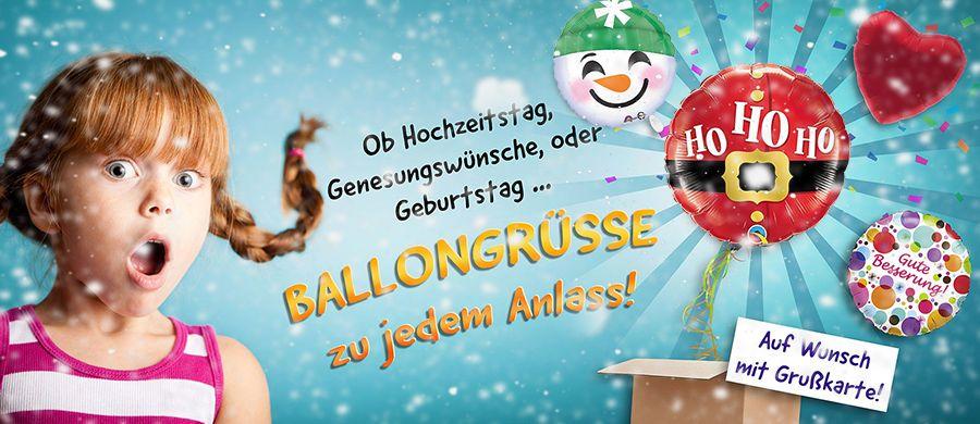 Der Ballongruß – ein ganz besonderer Gruß mit dem magischen Überraschungsmoment