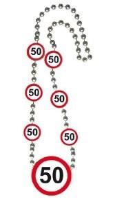 Kette 50 Verkehrsschilder