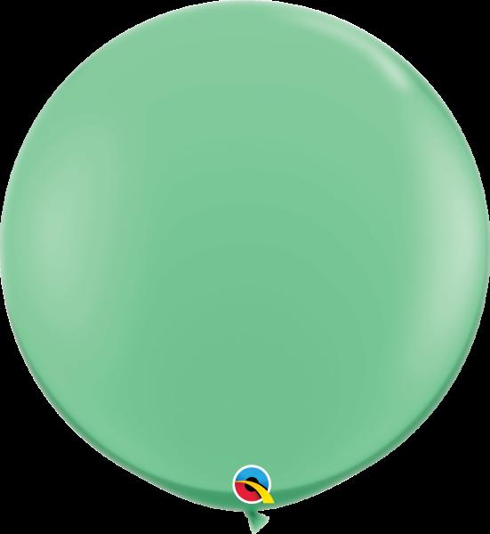 Riesenballon Qualatex, ca. 90 cm, wintergrün