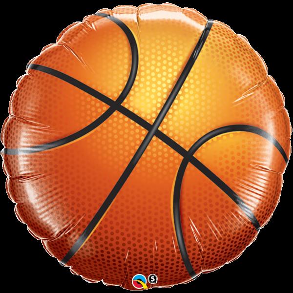 Folienballon Basketball, ca. 45 cm