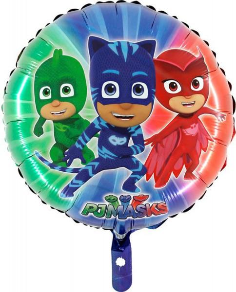 Folienballon PJMasks Pyjamahelden bunt, ca. 45 cm
