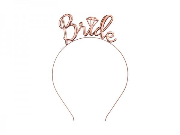 Haarreifen Bride rose gold, Einheitsgröße