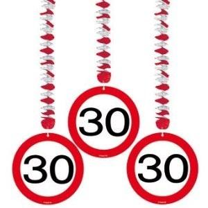 Rotorspiralen 30 Verkehrsschild, 3 St.