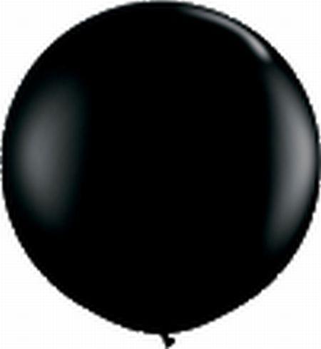 Riesenballon ca. 120 cm, schwarz