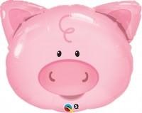 Folien-Shape Schwein, Kopf, ca. 76 cm