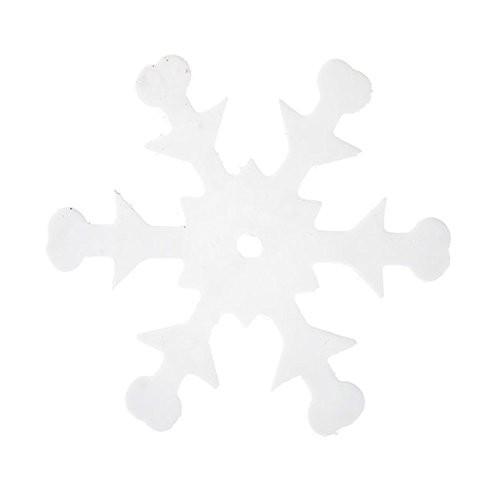 Konfetti Schneeflocken weiß, ca. 20 gr.