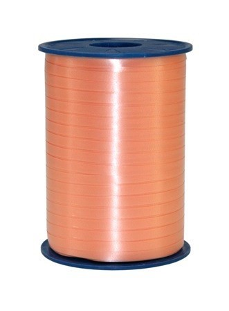 Polyband, apricot/lachs, 500 Meter-Rolle