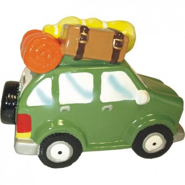 Spardose Urlaubsauto mit Gepäckträger ca. 19 x 9,2 x 14,2 cm