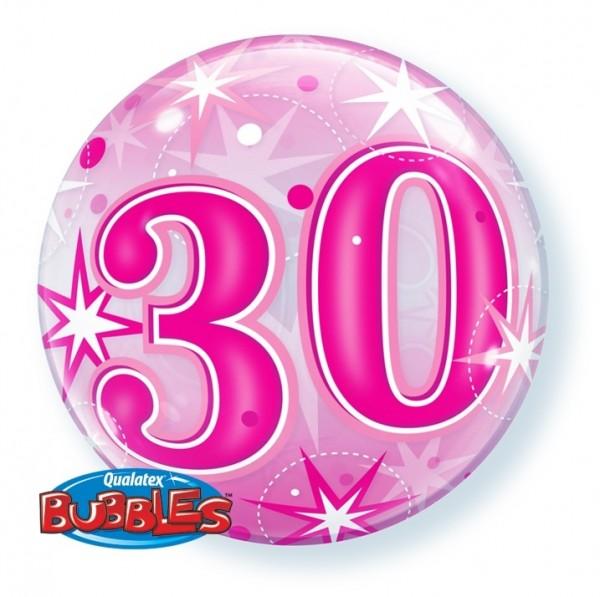 Bubble 30 PINK Qualatex, ca. 56 cm