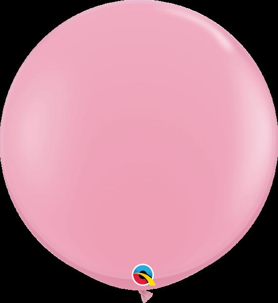 Riesenballon Qualatex, ca. 90 cm, pink - rosa