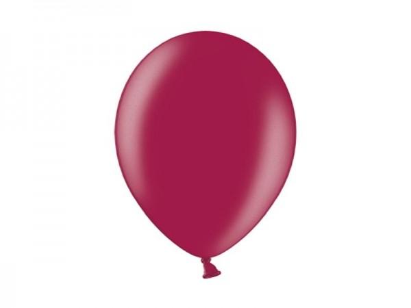 Basis Ballons - Weinrot - 30 cm-