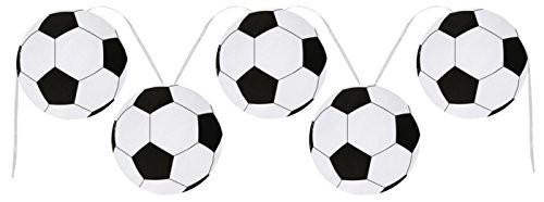 Girlande Fußball Fußbälle, ca. 6 M.