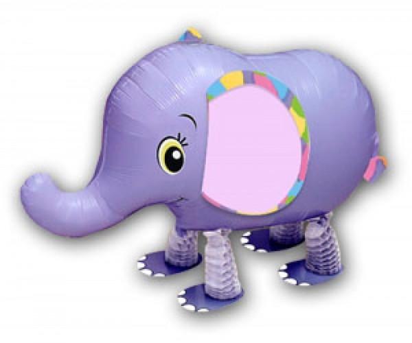 Ballongruß: Elefant, Airwalker, ca. 65 cm