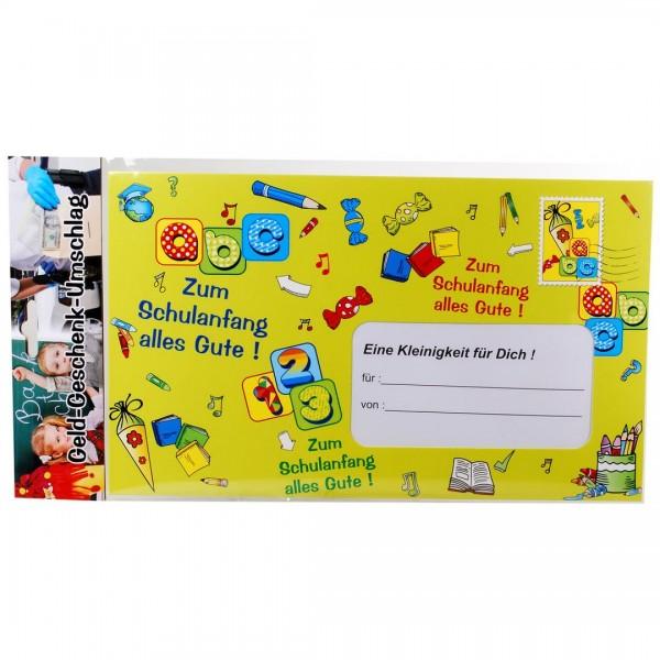 Riesen-Umschlag Zum Schulanfang alles Gute, ca. 18 x 30 cm