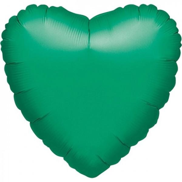 Folienherz grün, ca. 90 cm