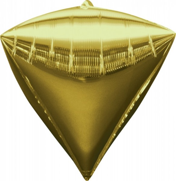 Folienballon Diamondz , ca. 40x43 cm, gold