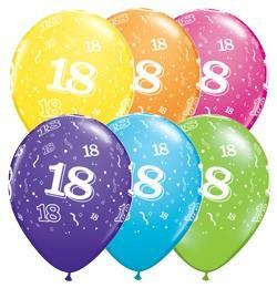 Luftballons mit Aufdruck