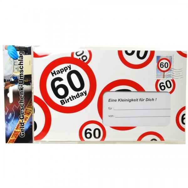 Riesen-Umschlag 60 Verkehrsschilder, ca. 18 x 30 cm