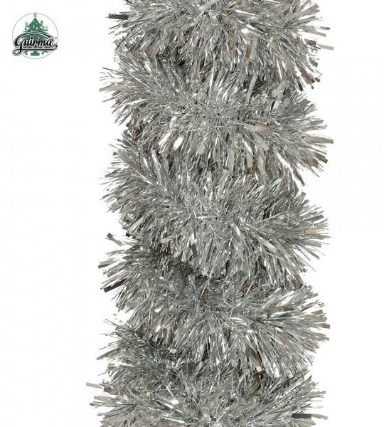 Boagirlande Fransengirlande silber, 1,8 M.