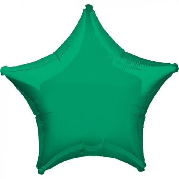 Folienstern grün, ca. 45 cm