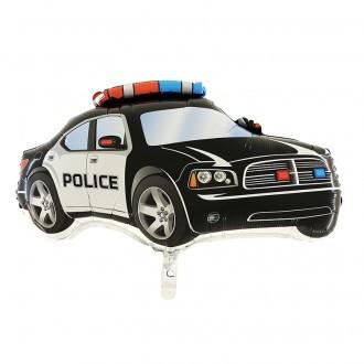 Folien-Shape Polizeiwagen, ca. 80 cm
