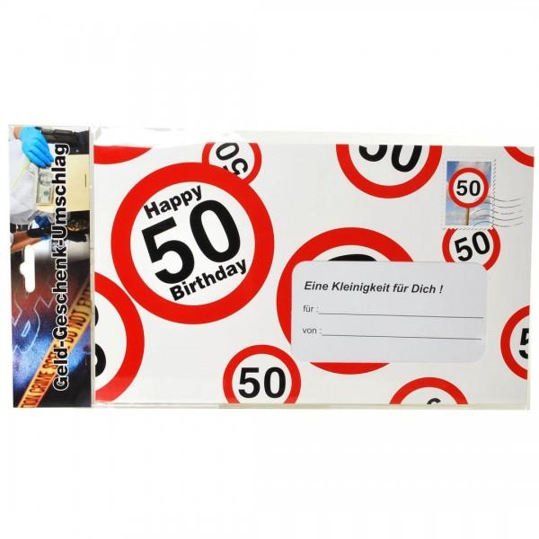 Riesen-Umschlag 50 Verkehrsschilder, ca. 18 x 30 cm