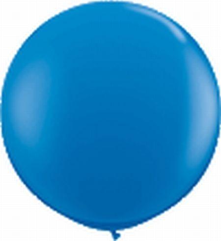 Riesenballon ca. 120 cm, blau